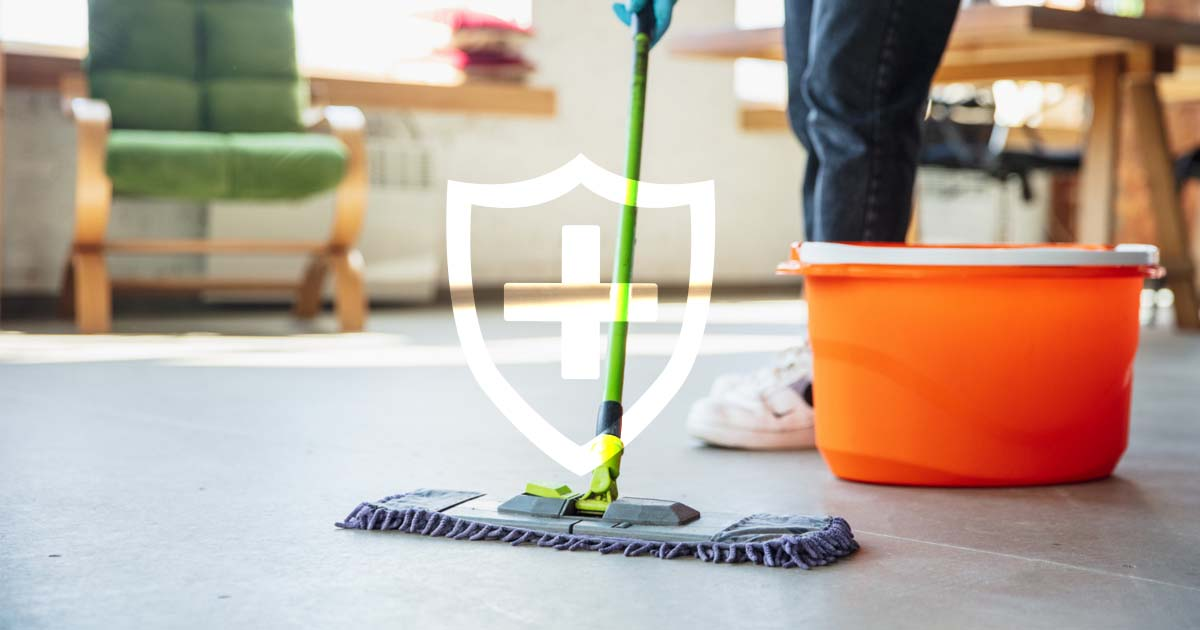 commercial cleaning health benefits